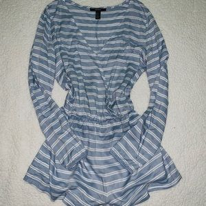 Striped Romper - SIZE M